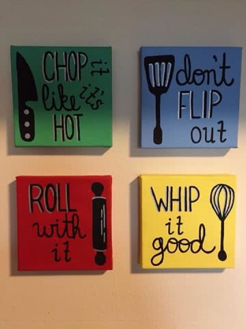 Kitchen Wall Art Ideas How To Add Glamour To Your Kitchen
