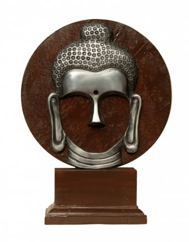 Mixed Media Buddha Sculpture- Artzolo