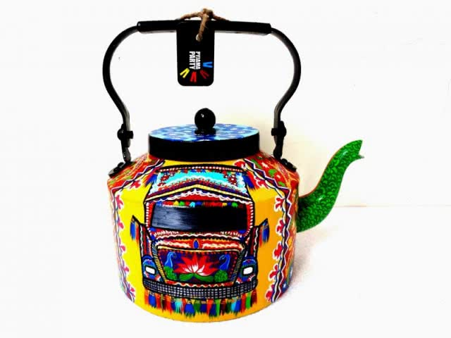 Tea Kettles Painted by Rithika Kumar