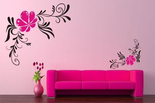 Left Floral Design