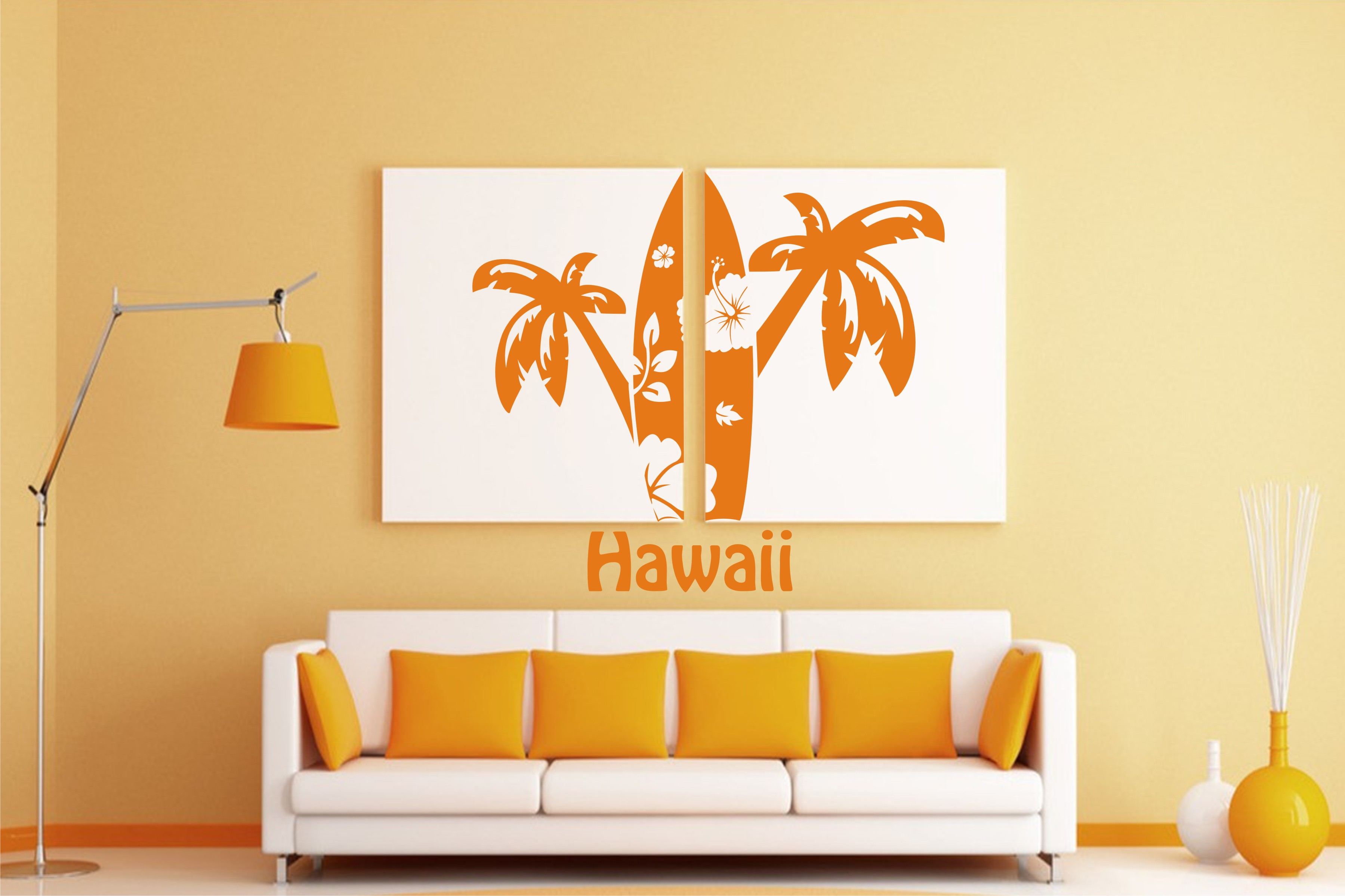 Hawaii-surf board