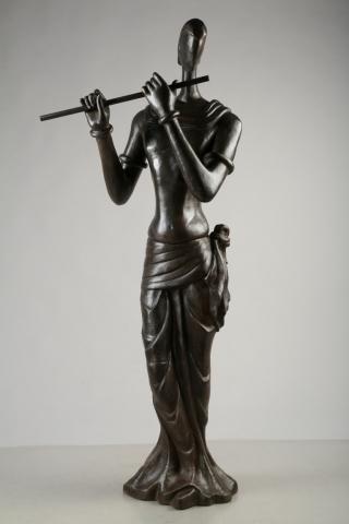 Krishna by Tapas Sarkar | ArtZolo.com