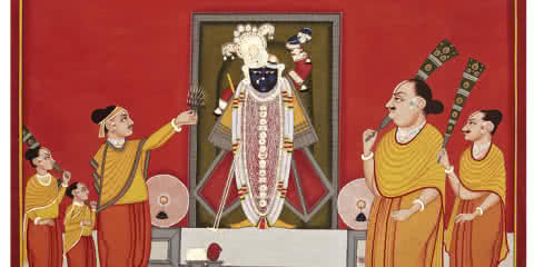 Pichwai Art : Festivals of Vrindavan depicted in Pichwai Art