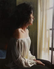 Jose Higuera | Oil Painting title Nostalgia on Canvas