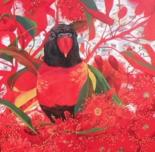 Animals Acrylic Art Painting title 'Coexistence 7' by artist Sweta Chandra