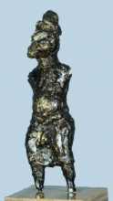 Bronze Sculpture titled 'Untitled 2' by artist Kishor Sharma