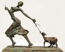Bronze Sculpture titled 'Home Bound' by artist Chaitali Chanda