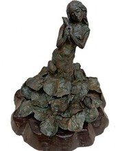 Bronze Sculpture titled 'Sharnna' by artist Chaitali Chanda