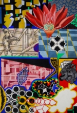 contemporary Gouache Art Painting title Lapse Of Reason by artist Joydip Sengupta