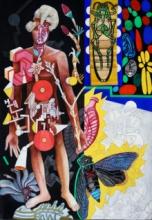 contemporary Mixed-media Art Painting title The Trajectory by artist Joydip Sengupta