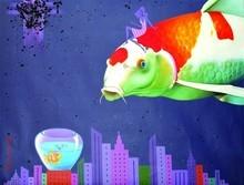 Animals Acrylic Art Painting title Untitled 13 by artist Bikash Mohanta