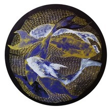 Animals Acrylic Art Painting title Antifish 2 by artist Ritesh Bhoi