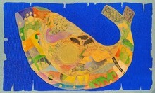 Animals Acrylic Art Painting title Golden Era by artist Ritesh Bhoi