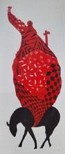 Animals Acrylic Art Painting title Luggage by artist Ritesh Bhoi