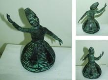 Brass Sculpture titled 'Devotion' by artist Tanzeem Baredia