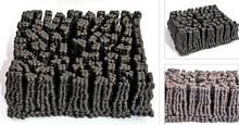 Mehndi Sculpture titled 'Divided But Together' by artist Nidhi Garg