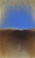Abstract Oil Art Painting title Two Sky by artist Promod Gaikwad