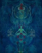 Motivational Acrylic Art Painting title Untitled 3 by artist Keshav Kasar