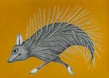 Animals Acrylic Art Painting title Untitled 3 by artist Venkat Shyam