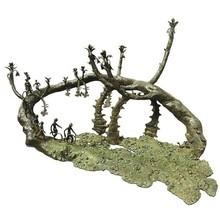 Bronze Sculpture titled 'Rhythm' by artist Mrinal Kanti