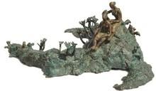 Bronze Sculpture titled 'Rhythm 4' by artist Mrinal Kanti