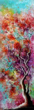 art, painting, oil, canvas, nature