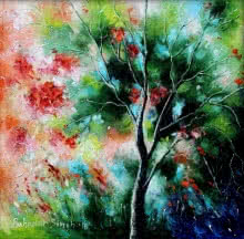 Nature Small | Painting by artist Bahadur Singh | oil | Canvas