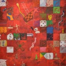 Ascent (Game) | Painting by artist Saurab Bhardwaj | other | Canvas