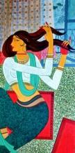 Figurative Acrylic Art Painting title Untitled by artist Jayprakash Jagtap