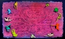 contemporary Acrylic Art Painting title Untitled 3 by artist Gourishankar Soni