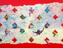 Figurative Acrylic Art Painting title Untitled 6 by artist Gourishankar Soni