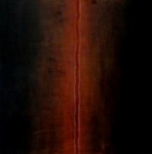 Abstract Mixed-media Art Painting title Silent Language 1 by artist Pradeep Ahirwar