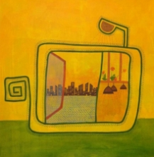 contemporary Acrylic Art Painting title Untitled 3 by artist Snehal Ekbote