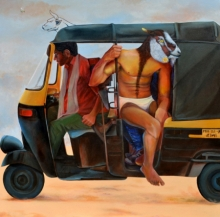 contemporary Acrylic Art Painting title Untitled 1 by artist Swapnil Ramgade