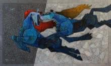 Horse - The Twilight Saga 2   Painting by artist Dinkar Jadhav   acrylic   Canvas