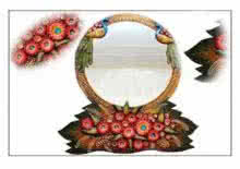 Art Street | Medium Mirror Craft Craft by artist Art Street | Indian Handicraft | ArtZolo.com