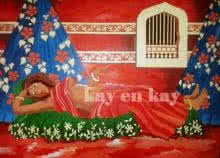 Dreams... | Painting by artist Narayanankutty Kasthuril | acrylic | Canvas Board