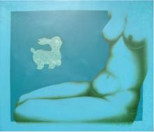 Play | Painting by artist Ram Prasad Halder | acrylic | Canvas