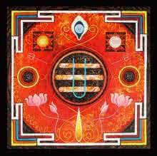 Omkar | Painting by artist Ajay Meshram | acrylic | Canvas