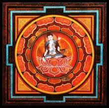 Buddha III | Painting by artist Ajay Meshram | acrylic | Canvas