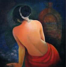 She 6 | Painting by artist RD Roy | acrylic | Canvas