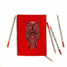 Rithika Kumar | Ernie Notebook Craft Craft by artist Rithika Kumar | Indian Handicraft | ArtZolo.com