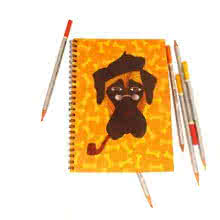 Mastiff Notebook | Craft by artist Rithika Kumar | Paper