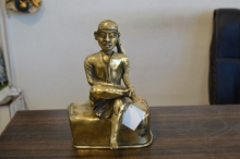 Brass Sculpture titled 'Sai' by artist Kushal Bhansali