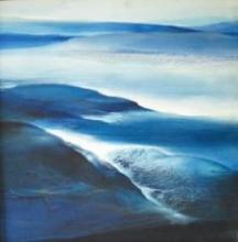Rockscape   Painting by artist Vinod Sharma   oil   Canvas