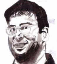 Photorealistic Watercolor Art Painting title Viswanathan Anand is a Chess Champion by artist Saurabh Turakhia