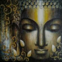 Dhyana | Painting by artist Madhumita Bhattacharya | acrylic | Canvas
