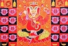 Ganesha | Painting by artist Bhaskar Lahiri | acrylic | Canvas