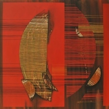 Conquer Abstract 4 | Painting by artist Rahul Dangat | acrylic | Canvas