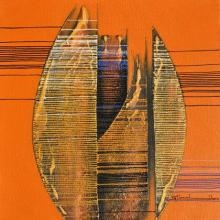 Emerging Abstract | Painting by artist Rahul Dangat | acrylic | Canvas